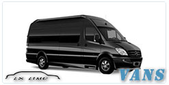 Luxury Van service in Nashville