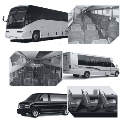 Nashville Coach Bus rental