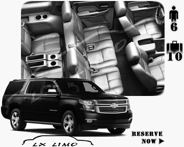 SUV Suburban for hire in Nashville