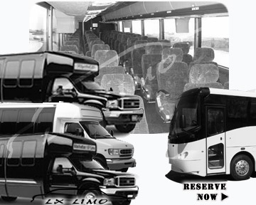 Nashville Bus rental 36 passenger