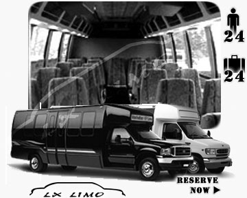 Mini bus for hire in Nashville, TN