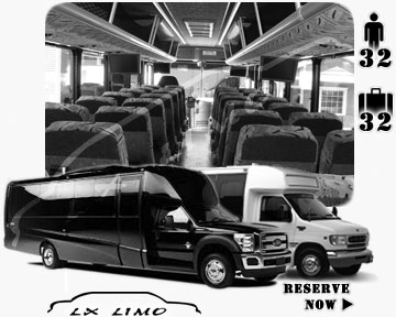 Motor coach Bus rental in Nashville, TN